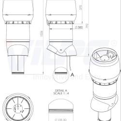 XL -E220Р/160/700 ВЕНТИЛЯТОР