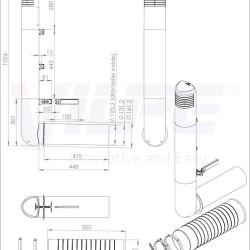 ROSS -125/135 ДЕФЛЕКТОР